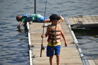 Super Kids LOVE fishing!