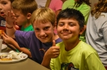 Campers loved our pizza dinner!