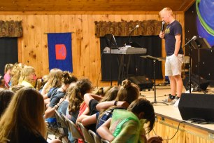 We're so excited to have Joe - a former staff member at Camp - back to speak again this week!