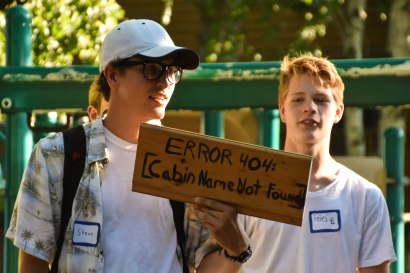 This year, senior high cabins got the chance to rename their cabins for a week.
