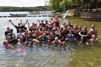 Look at all the staff members we threw in the lake during the Staff Hunt!
