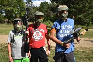 Yesterday was the first day for paintball this week!