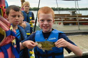 Super Kids sure love fishing!